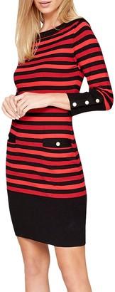 Damsel in a Dress Azelia Stripe Dress, Multi