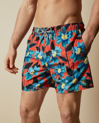 Ted Baker Floral Printed Swim Shorts