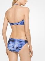 Michael Kors Tie-Dye Halter Bikini Set
