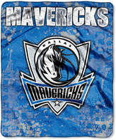 Northwest Company Dallas Mavericks Raschel Shadow Blanket
