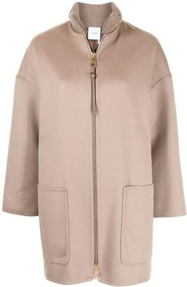 Agnona Cashmere Zipped Coat