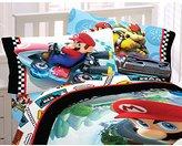 Nintendo Super Mario Road Rumble Microfiber Sheet Set, Full
