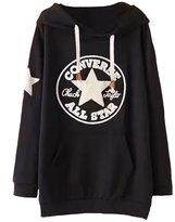 Ainovile Women's Casual V Neck Pullover Long Hoodies Plus Size Sweatshirts Tnic