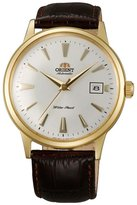 Orient Men's Bambino ER24003W Brown Leather Automatic Watch