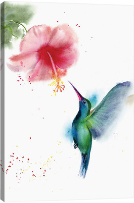 iCanvas Hummingbird Ii By Olga Shefranov Wall Art