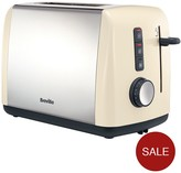 Breville Colour Collection 2-Slice Toaster VTT758 - Cream
