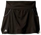 adidas Kids Kids Club Skirt (Little Kids/Big Kids) (Black) Girl's Skirt
