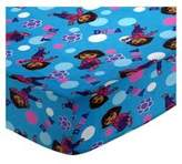 BABYBJÖRN SheetWorld Fitted Sheet (Fits Travel Crib Light) - Dora Blue - Made In USA - 24 inches x 42 inches (61 cm x 106.7 cm)