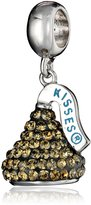 Hershey Jewelry Sterling Silver and Swarovski Elements 3D Dangle Charm