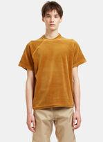 Gmbh Men's Cem Velvet T-shirt In Gold