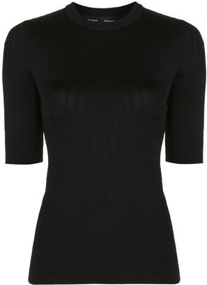 Proenza Schouler crinkled-effect slim-fit T-shirt