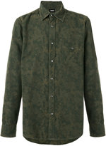 Hudson camouflage shirt - men - Cotton - S