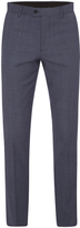 Oxford Hopkins Wool Suit Trousers Lt Blu X