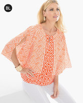 Chico's Border Printed Top