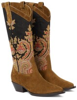 Thumbnail for your product : Etro Suede cowboy boots