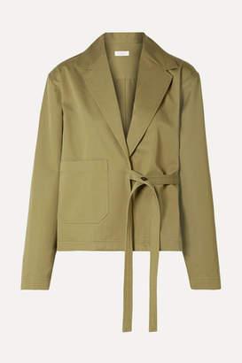 Deveaux - Keaton Cotton-twill Blazer - Army green