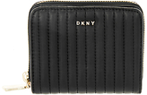 DKNY Ganesvoort Small Leather Carryall Purse, Black