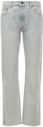 KHAITE Kayle Low Waist Straight Denim Jeans