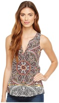 Sanctuary Craft Shell Top Women's Clothing