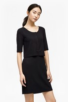 French Connection Manhattan Layered Jersey Dress