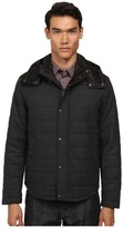 Vince Quilted Jacket w/ Leather Piecing