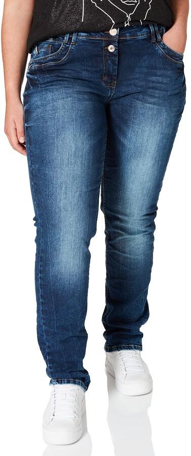 Cecil Women's 373790 Style Scarlett Loose Fit Jeans