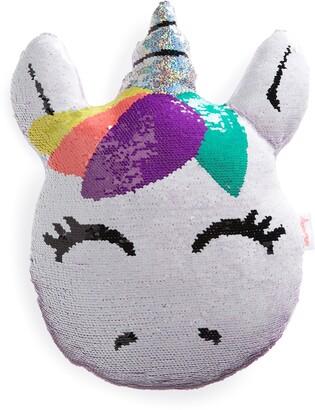 Iscream Unicorn Reversible Sequin Pillow