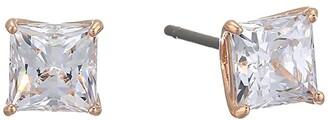 Swarovski Attract Square Stud Pierced Earrings