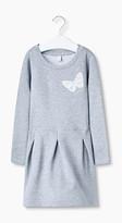 Esprit Soft sweatshirt dress with butterflies