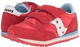Saucony Kids Originals Jazz Double Hook Loop (Little Kid) (Red) Boy's Shoes