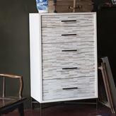 west elm Wood Tiled 5-Drawer Dresser