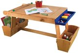 Kid Kraft Art Table with Drying Rack and Storage