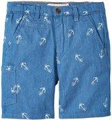 Appaman Seaside Shorts (Toddler/Kid) - Blue Novelty - 2T