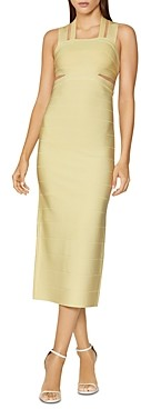 Herve Leger Strappy Bodycon Gown