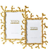 Twos Company Coral Photo Frames (Set of 2)