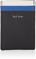 Paul Smith Men's Colorblocked Card Case-BLACK