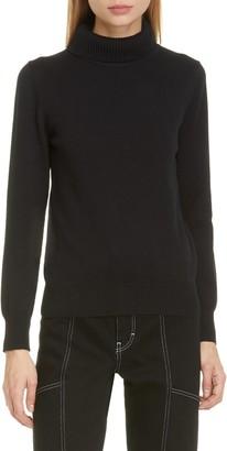 Simon Miller Doria Rib Cotton Blend Turtleneck Sweater