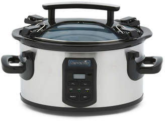 Stainless Steel 6qt Cook And Carry Slow Cooker