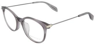 Alexander McQueen Unisex Am0093oa 50Mm Optical Frames
