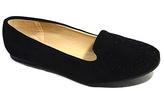 Black Embellished Loafer