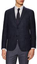 Corneliani Wool Tweed Notch Lapel Sportcoat