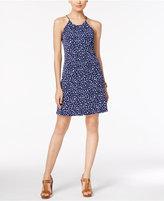 MICHAEL Michael Kors Clara Printed Halter Dress