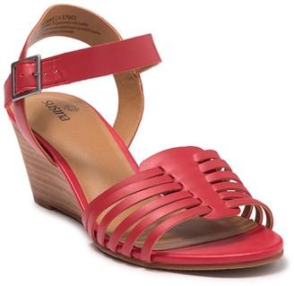Susina Terra Wedge Sandal