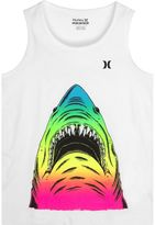 Hurley Boys 4-7 Colorful Shark Graphic Tank Top