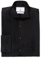 Tailored Fit Pleated Tuxedo Shirt