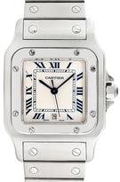 Cartier Vintage Santos Galbee Stainless Steel Watch