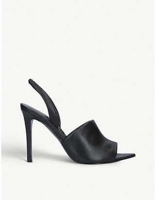 Nine West Guthrie leather heeled sandals