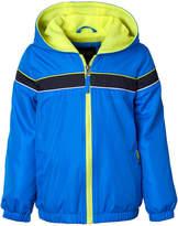 iXtreme Blue & Yellow Stripe-Front Windbreaker - Infant, Toddler & Boys
