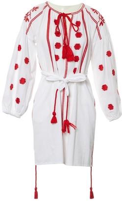 Non Signã© / Unsigned White Cotton Dresses