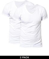 Jack and Jones 2 Pack V Neck T-Shirt